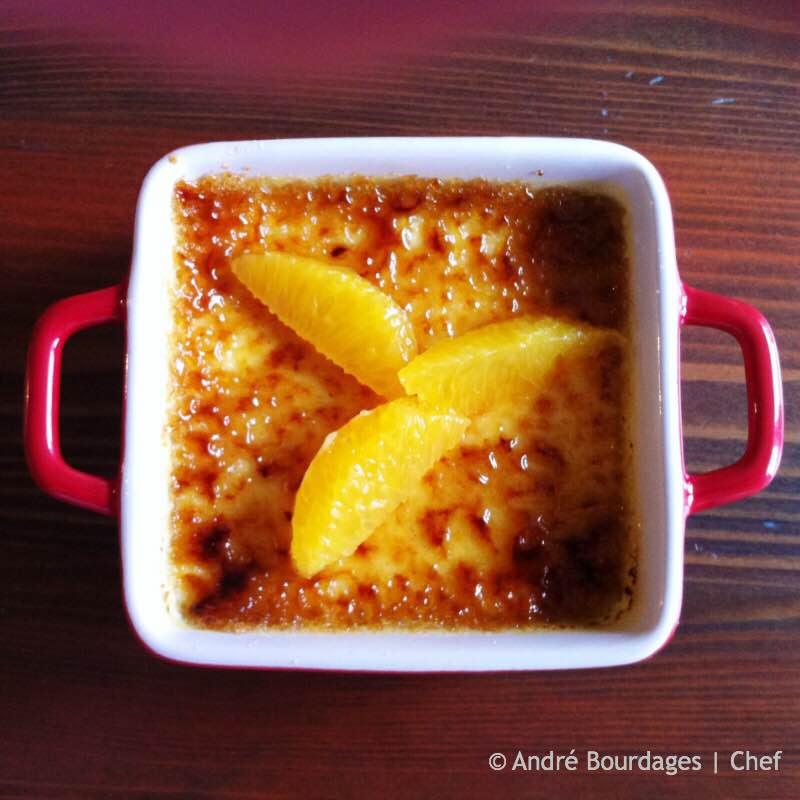 Crème brulée à l'orange et au Grand Marnier - Final