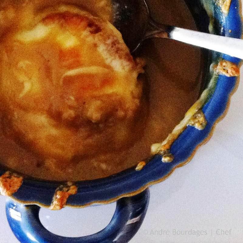 Potage à l'oignon et à la rousse - Finale